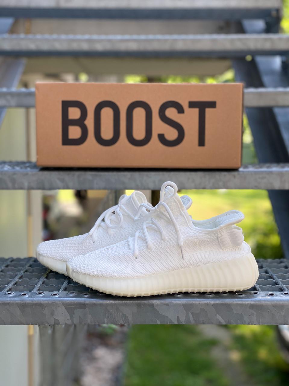Мужские кроссовки Yeezy Boost 350 Cream White
