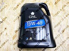 Масло моторне бензин. мінеральне 15-40 4л GNL