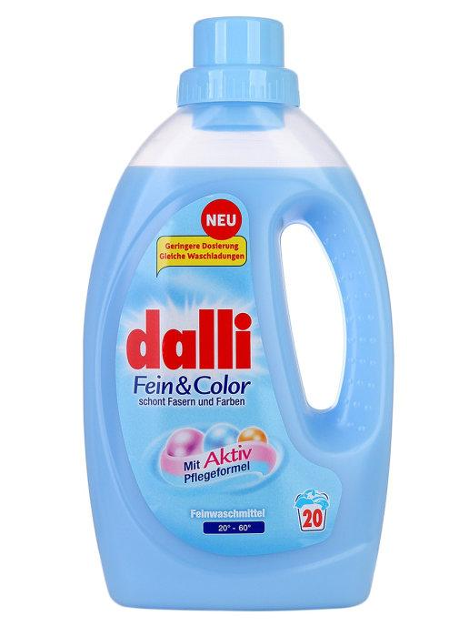 Гель-концентрат DALLI для прання делікатних тканин Фейн Колор 1100 мл 20 прань