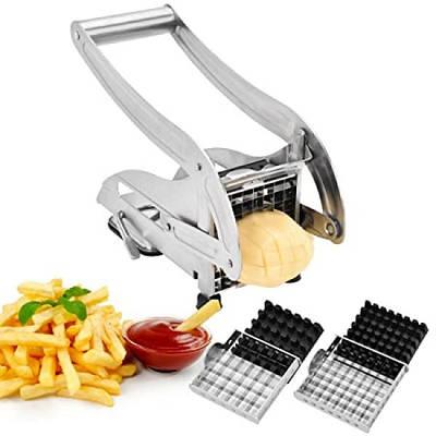 Картофелерезка ручная Potato Chipper  PC-012 для нарезания картофеля фри Нержавеющая сталь