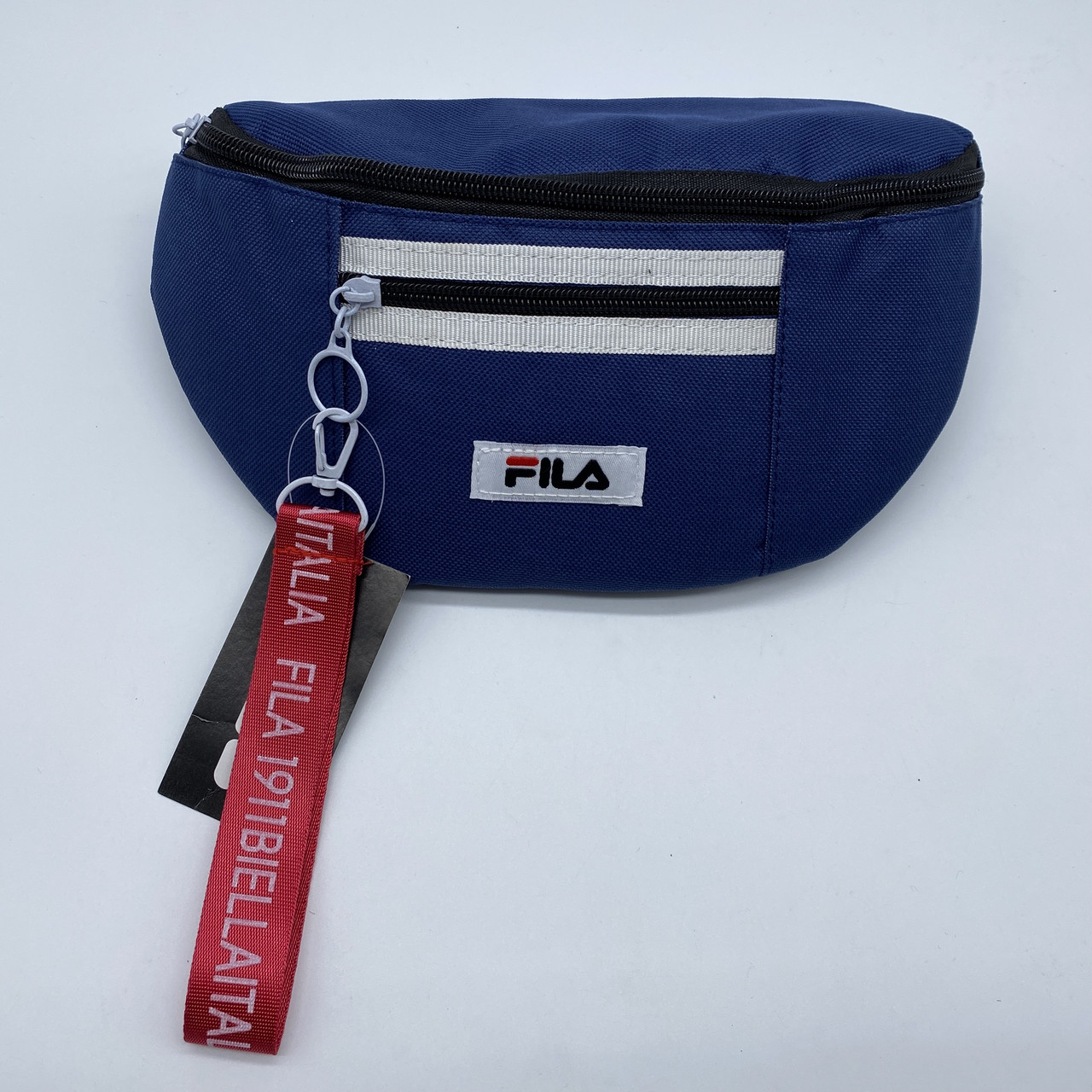 Женская бананка FILA поясная сумочка фила синяя