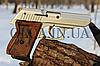 Стартовый пистолет EKOL LADY 9 мм (сатин с позолотой), фото 2