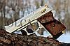 Стартовый пистолет EKOL LADY 9 мм (сатин с позолотой), фото 3