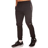 Штаны спортивные мужские Under L-6 размер 4XL (190-195см) Black-Grey