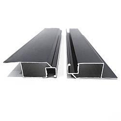 Профиль москитный DL-02 внутренний 11х32 RAL7024 Графитовый серый (Антрацит) Elite (от 120м)