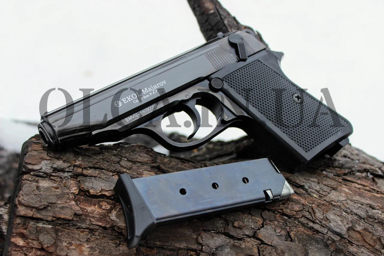 Стартовый пистолет EKOL MAJAROV Black кал. 9 мм