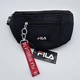 Женская бананка FILA поясная сумочка фила черная, фото 4
