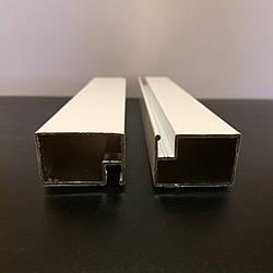 Профиль москитный дверной 17х25 RAL9016 (Транспортный белый)