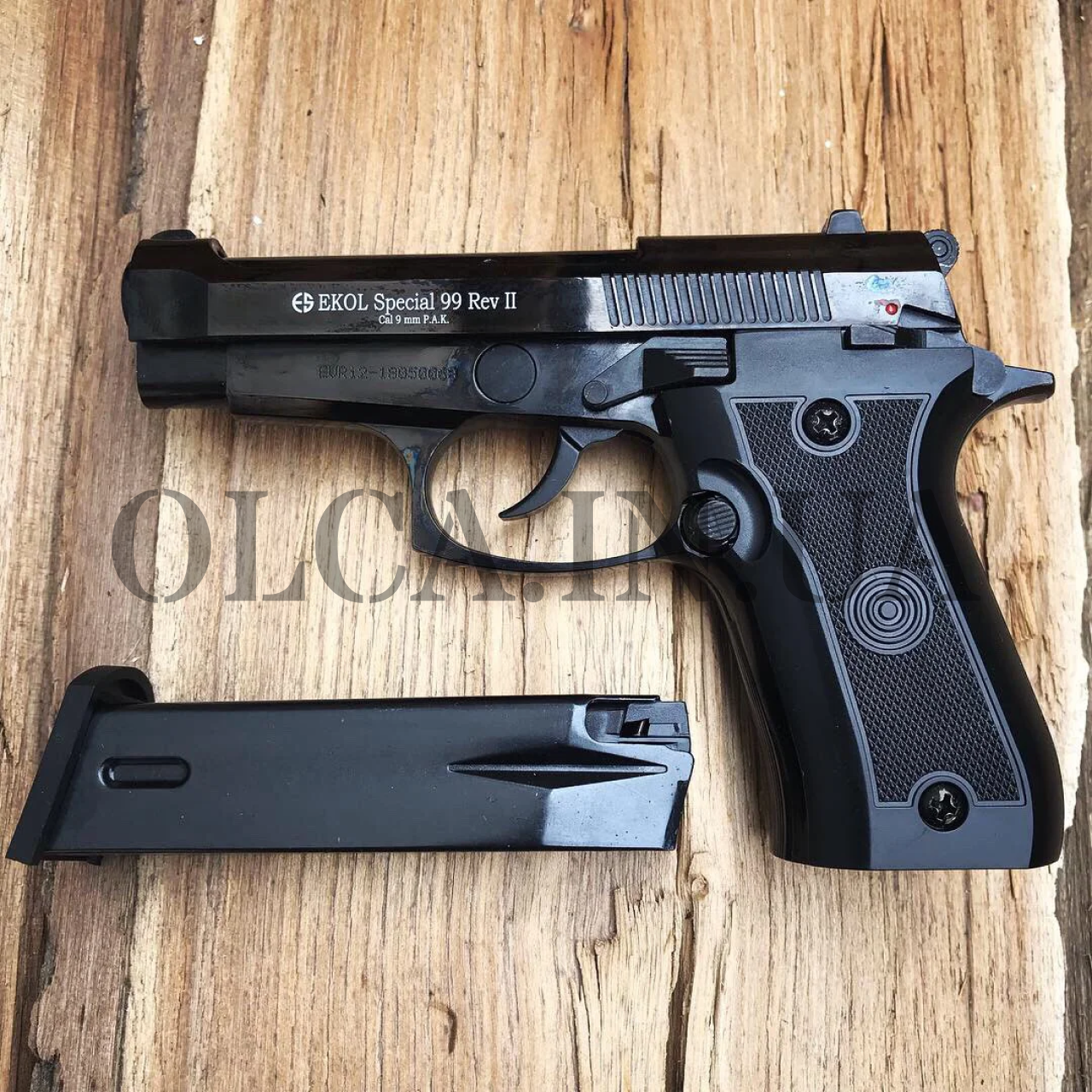 Стартовый пистолет Ekol Special 99 Rev-2 кал. 9 мм (черный)