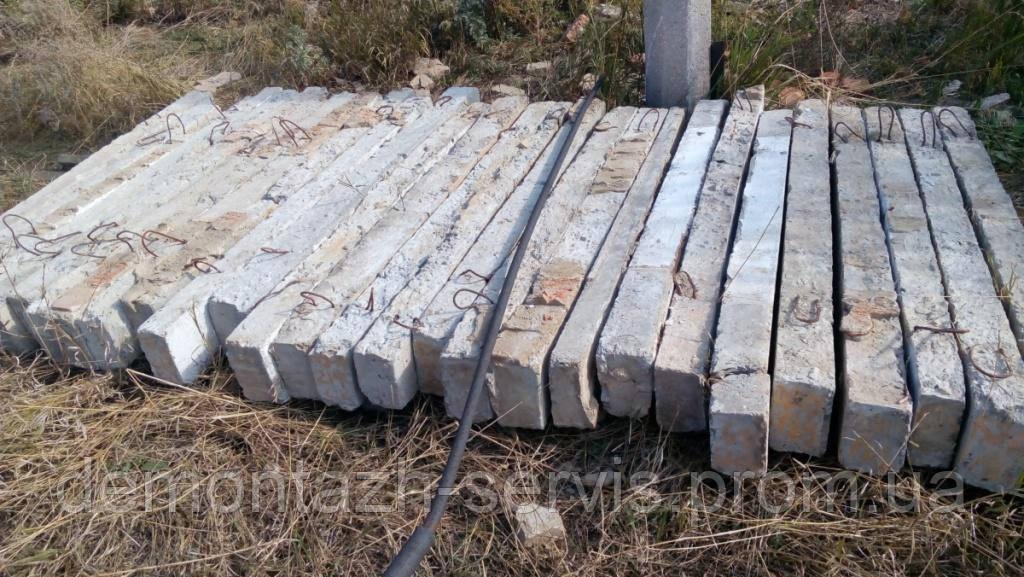 Перемычки оконные ж/б, б/у - Демонтаж Сервис в Днепропетровской области