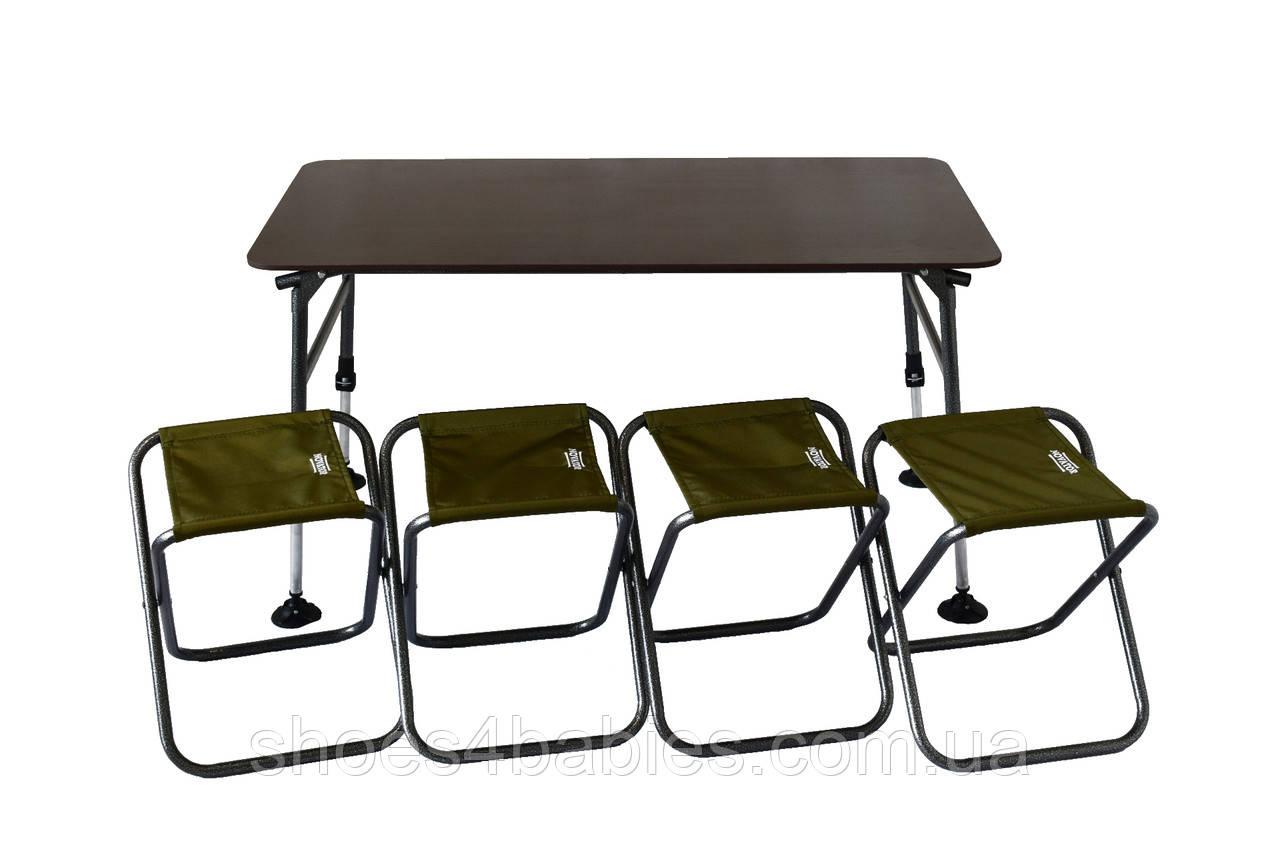 Комплект меблів складний Novator SET-3 (120х65)