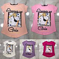 Підліткова футболка AMONG US GIRLS для дівчаток 7-14 років,колір уточнюйте при замовленні, фото 1