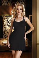 Женская ночная рубашка черного цвета Ana Eldar.