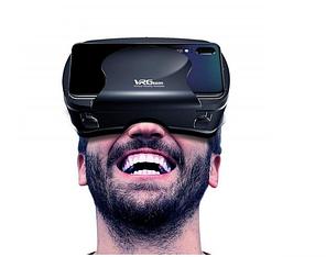 Окуляри віртуальної реальності для смартфона VRG Pro з пультом Чорні (839-1)
