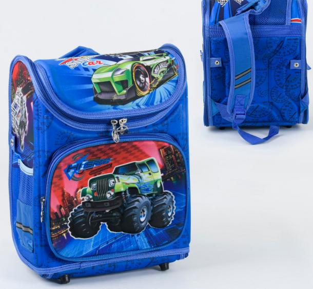 Детский школьный рюкзак 36174 синий