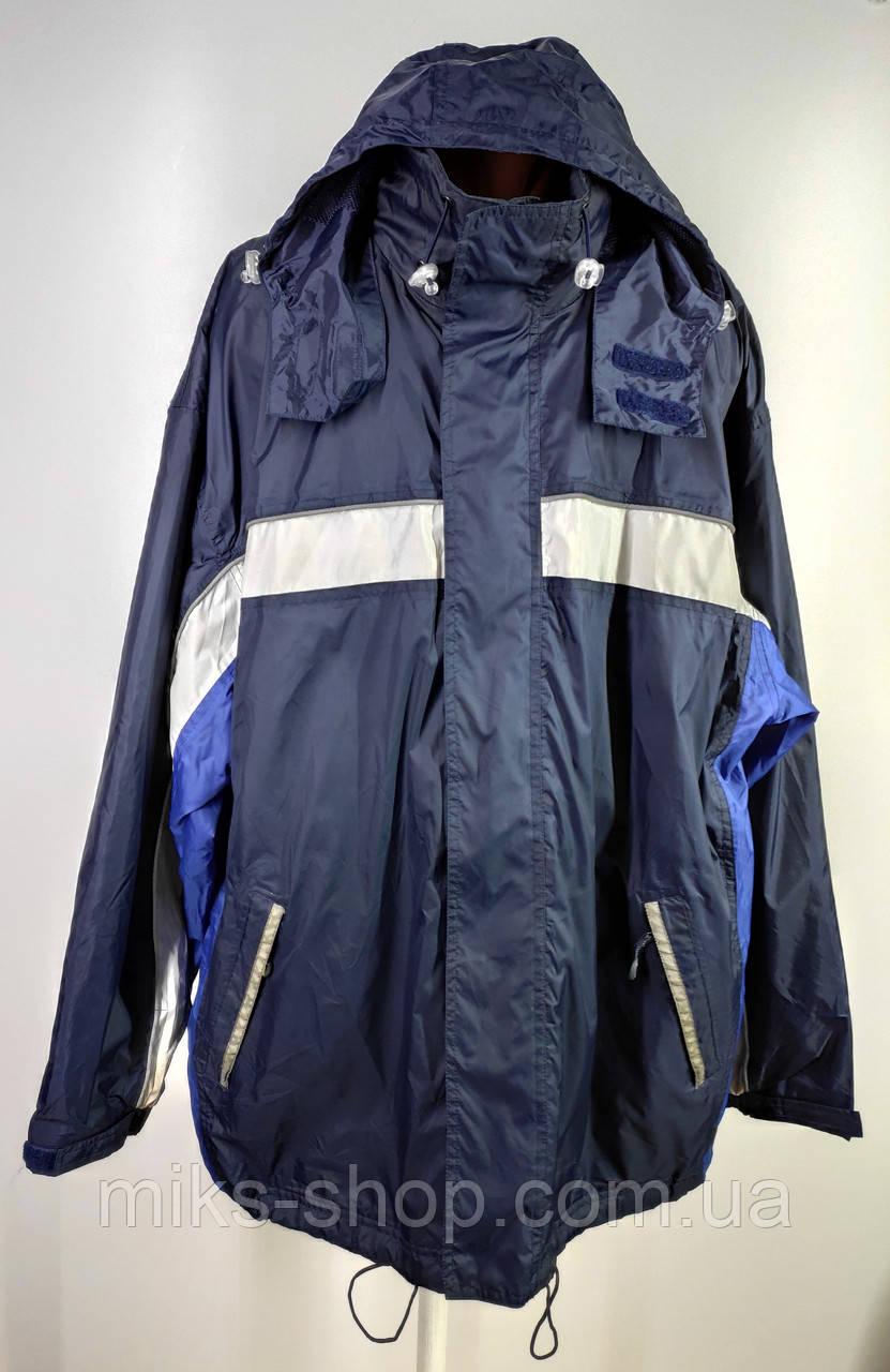 Спортивна куртка – вітровка великого розміру 62-64 ( Р-117)