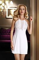 Женская ночная рубашка цвета экри без рукава Emi Eldar.