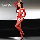 Еротична білизна. Еротичний боді комбінезон Passion ( 52 розмір розмір XL ), фото 2