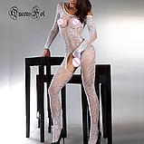 Еротична білизна. Еротичний боді комбінезон Passion ( 52 розмір розмір XL ), фото 4