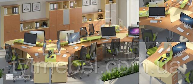 Удобная офисная мебель — залог продуктивности персонала