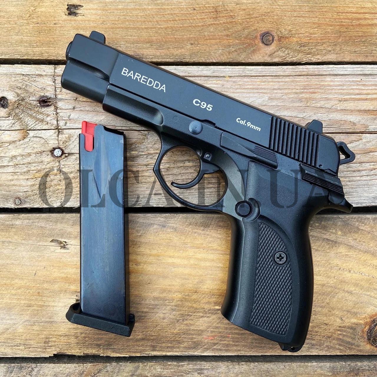 Стартовый пистолет BAREDDA C 95 + 50 патронов Ozkursan кал. 9 мм