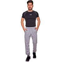 Штаны спортивные мужские с манжетом Zelart 9303 размер XL (170-175см) Grey