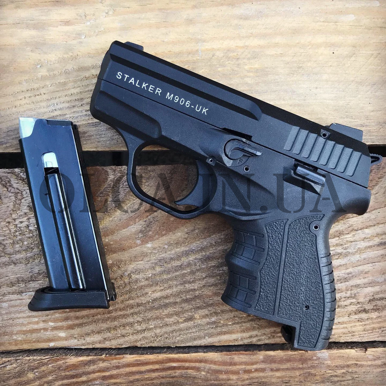 Стартовый пистолет Stalker 906 black 9 mm (Zoraki)