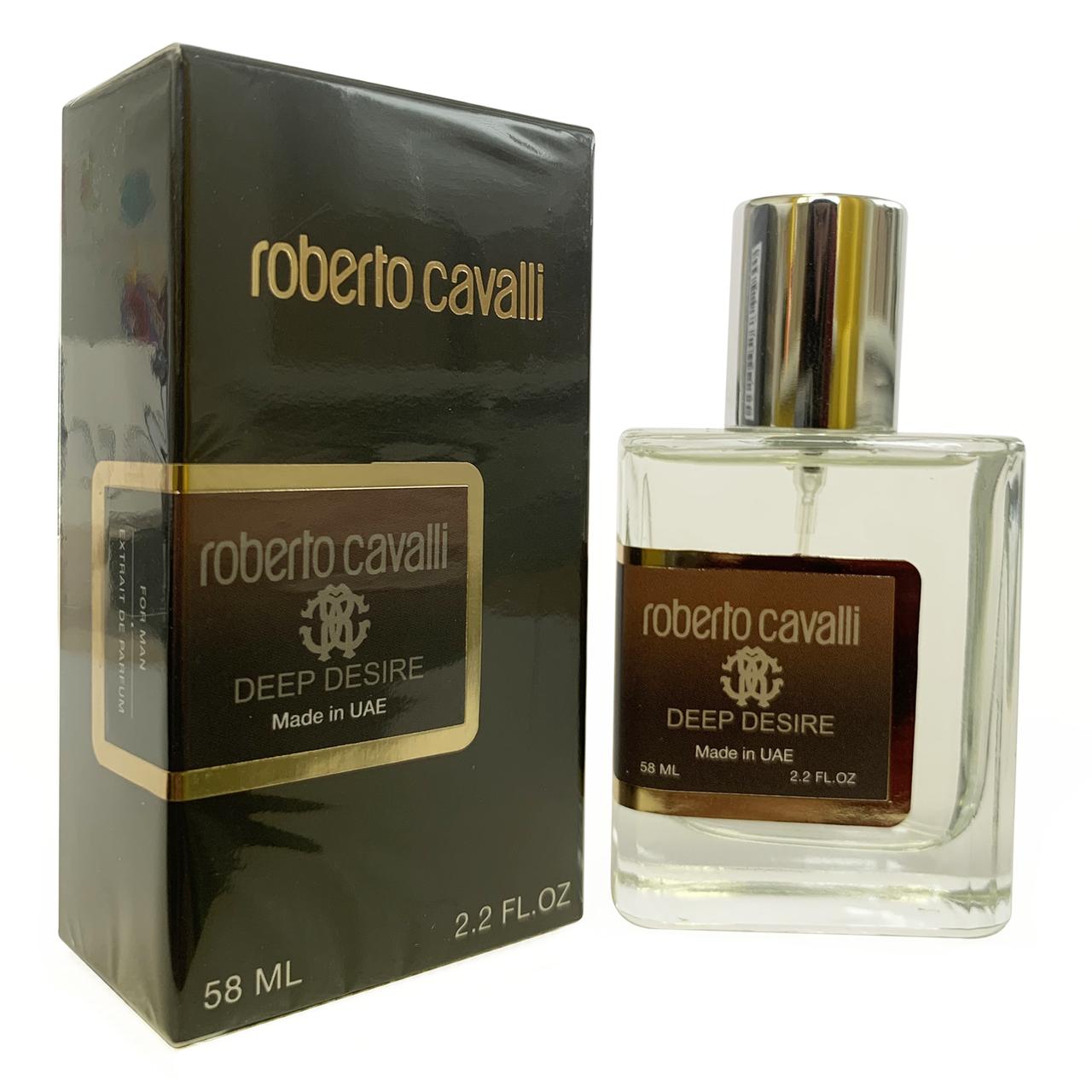 Roberto Cavalli Uomo Deep Desire Perfume Newly мужской, 58 мл
