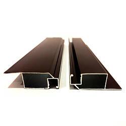 Профиль москитный внутренний 11х32 RAL8017 (Шоколадно-коричневый)