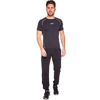 Штаны спортивные мужские с манжетом Zelart 9303 размер 2XL (175-180см) Black