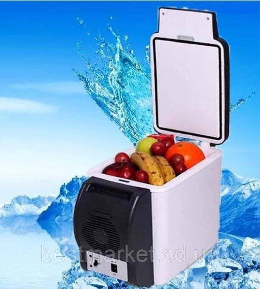 Холодильник Автомобильный от Прикуривателя с Функцией Подогрева Portable Electronic на 6л Автохолодильник
