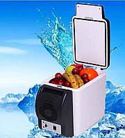Холодильник Автомобильный от Прикуривателя с Функцией Подогрева Portable Electronic на 6л Автохолодильник, фото 1