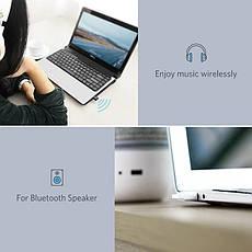 USB Bluetooth адаптер Ugreen US192 бездротовий передавач bluetooth 4.0 для комп'ютера, ноутбука Black, фото 2