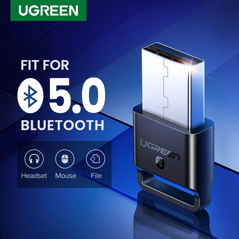 USB Bluetooth адаптер Ugreen US192 бездротовий передавач bluetooth 4.0 для комп'ютера, ноутбука Black
