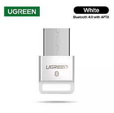 USB Bluetooth адаптер Ugreen US192 бездротовий передавач bluetooth 4.0 для комп'ютера, ноутбука Black, фото 3