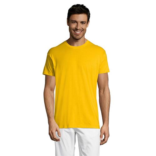 Футболка мужская жёлтая Regent