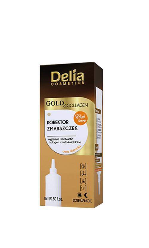 Delia cosmetics Gold & Collagen Мульти-філлер проти зморшок