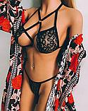 Сексуальное белье. Эротическое боди. Эротический комплект.(42 размер Размер  S), фото 2