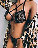 Сексуальное белье. Эротическое боди. Эротический комплект.(42 размер Размер  S), фото 4