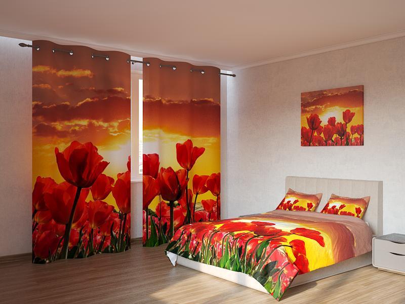 Фотокомплект  солнце и цветы