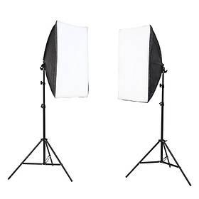 Набор постоянного студийного света Prolighting (50х70 см.патрон Е27+стойка 2.2 м)