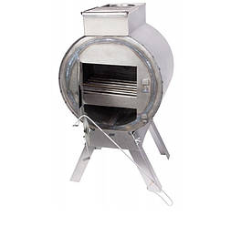 Печь Силумин Буржуйка черная сталь без труб БРЖ