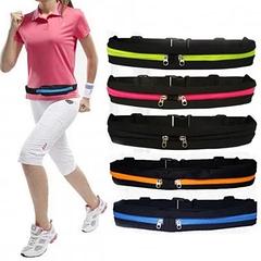 Поясная сумка для бегунов, велосипедистов и всех любителей активного образа жизни.