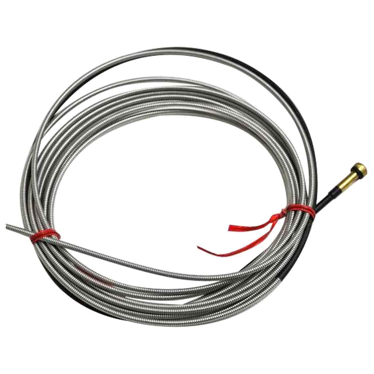 Проволокопровод металлический для стальной проволоки и порошковой проволоки 0,6-0,8 мм 3 М для МИГ/МАГ Горелок