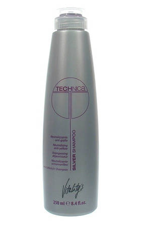 Vitality's Technica Silver Shampoo - Шампунь, нейтрализующий желтизну волос 250 мл.