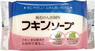 Kaneyo хозяйственное мыло для рук и посуды  с алое, мятный аромат 135 гр