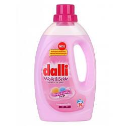 Dalli Wolle and Seide-Balsam - спеціальний концентрований гель для вовни, шовку і делікатних тканин, 1,1 л