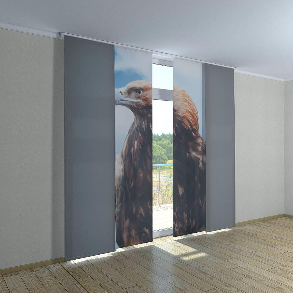 Японские фотошторы орел