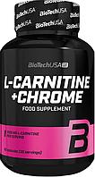 Жиросжигатель BioTech USA L-Carnitine + Chrome 60капс.