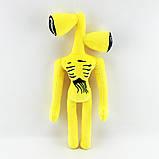 Сиреноголовый мягкая игрушка 40см разноцветные Siren Head (Кодовое название SCP-6791) черного цвета, фото 2